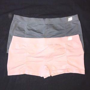 2 NWOT New Balance Boy Shorts Underwear Panties